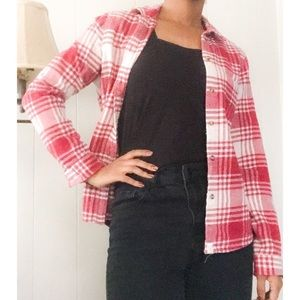 American Eagle Outfitters Red Flannel